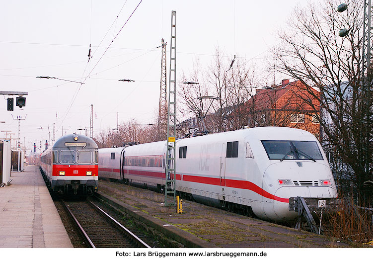 DB Baureihe 410 in Hamburg-Altona