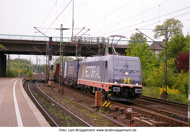 Foto Hectorrail Lok in Hamburg-Harburg