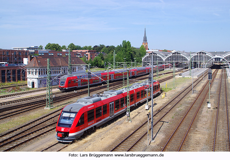DB Baureihe 648 in Lübeck